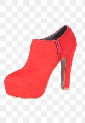 Red High Heels - High-heeled Footwear Red Boot Designer PNG