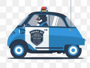 Police Car - Police Car 1993 Land Rover Defender Illustration PNG