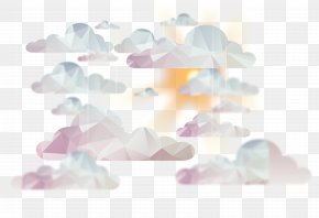 Abstract Cloud Sky Background Vector PNG
