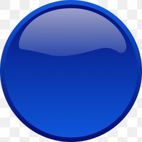 Button - Button Blue Clip Art PNG