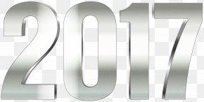 2017 Silver Transparent Clip Art Image - Clip Art PNG