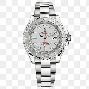 Silver Rolex Watch Male Watch - Rolex Yacht-Master II Rolex Datejust Watch Rolex Daytona PNG