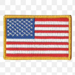 United States - Flag Of The United States Flag Patch Embroidered Patch TacticalGear.com PNG