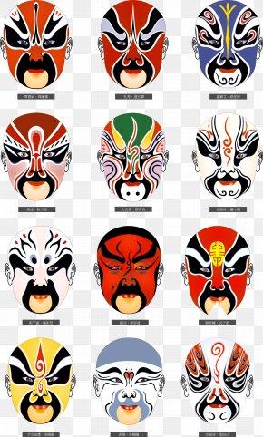 Peking Opera - Beijing Peking Opera Chinese Opera Mask PNG