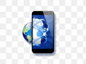 Global Business And Global Smartphone Icon - Samsung Galaxy Smartphone Icon PNG