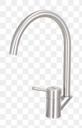 Stainless Steel Kitchen Faucet Hot And Cold - Tap Kitchen Bathroom Sink PNG
