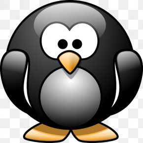Cartoon Pinguin - Baby Jungle Animals Penguin Cartoon Clip Art PNG
