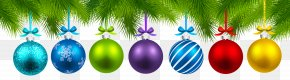 Christmas Balls Decor Clipart Image - Christmas Ornament Christmas Decoration Christmas Tree PNG