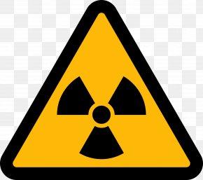 Nuclear - Radiation Radioactive Decay Hazard Symbol Clip Art PNG