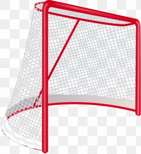 Hockey - Ice Hockey Goal Net Clip Art PNG