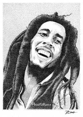 Bob Marley - Bob Marley Drawing Portrait Visual Arts PNG