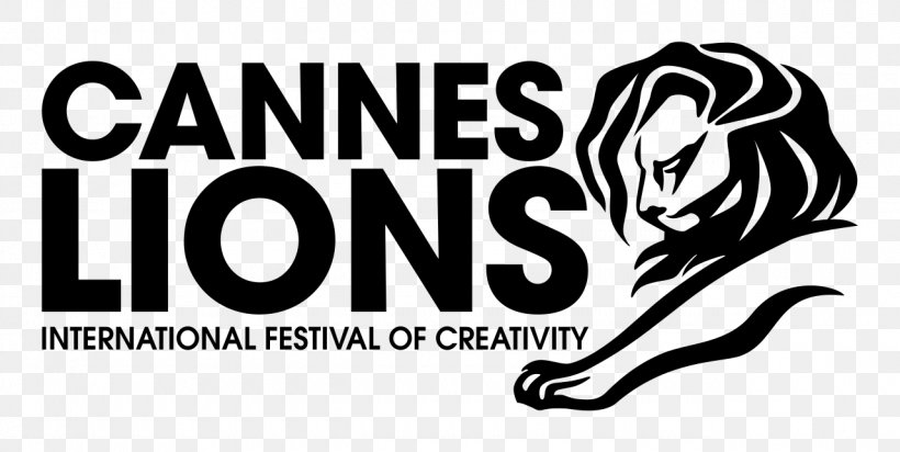 Cannes Lions International Festival Of Creativity Gold Lion Logo Png 1280x644px Cannes Advertising Black And White