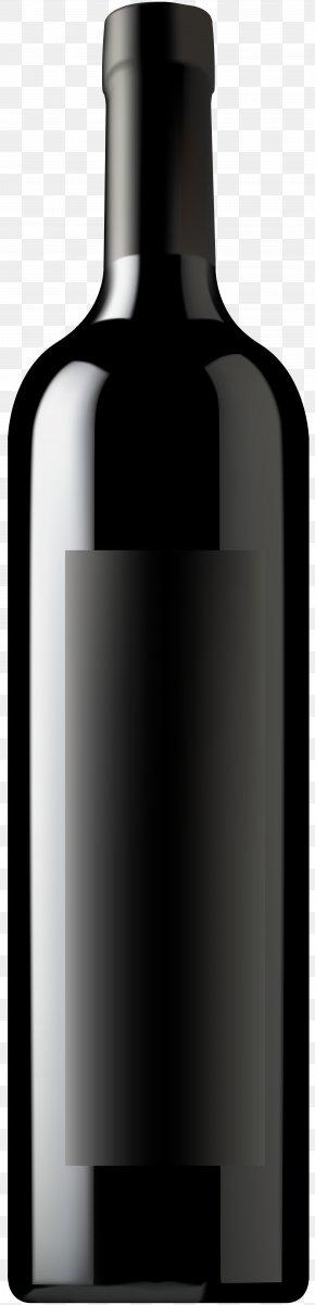 Wine Bottle Clip Art Image - Glass Bottle Material PNG