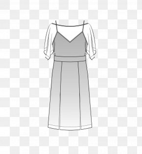 Hand-painted Dresses - Shoulder Cocktail Dress Gown Sleeve PNG