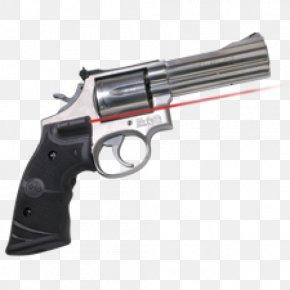 Laser Gun - Smith & Wesson M&P Crimson Trace Revolver Sight PNG
