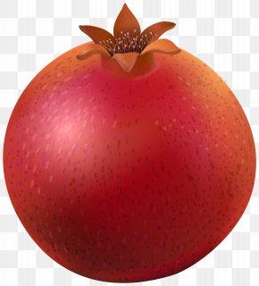 Pomegranate Clip Art Image - Pomegranate Natural Foods Apple PNG