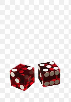 Red Transparent Dice - Dice Transparency And Translucency Gambling PNG