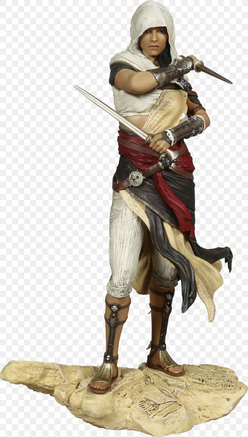 Assassin's Creed: Origins Video Game Figurine Ubisoft, PNG, 1443x2539px, Video Game, Action Figure, Action Toy Figures, Cold Weapon, Figurine Download Free