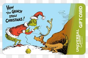 How The Grinch Stole Christmas - How The Grinch Stole Christmas! Gift Greeting & Note Cards Christmas Card PNG