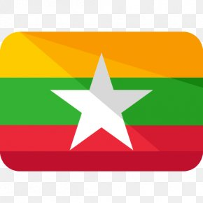 Flag - Burma Flag Of Myanmar Gallery Of Sovereign State Flags National Flag PNG