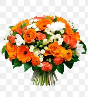 Flower - Flower Bouquet Transvaal Daisy Garden Roses Gift PNG
