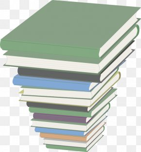 Stack Of School Books - Book Clip Art PNG