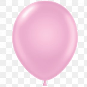 Pink Balloon - Balloon Pink Pastel Color Birthday PNG