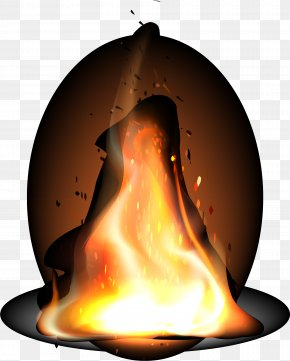 Flame Effect Element - Light Flame Fire PNG