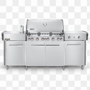 Barbecue - Barbecue Weber Summit Grill Center Weber-Stephen Products Grilling Weber Summit S-460 PNG