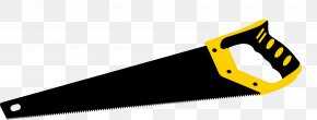 Saw Vector Material - Hand Saw Tool PNG