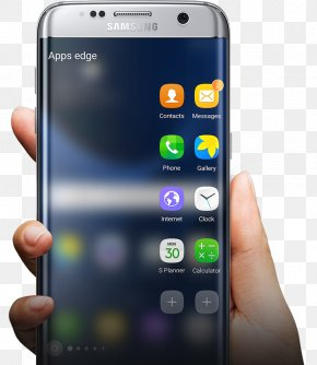 Samsung Galaxy Edge - Samsung GALAXY S7 Edge Telephone Android Samsung Electronics PNG
