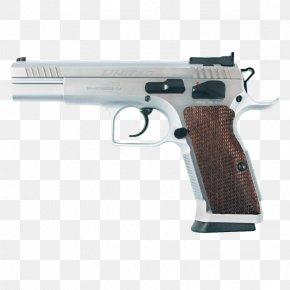 Weapon - Trigger Firearm European American Armory Tanfoglio T95 Pistol PNG