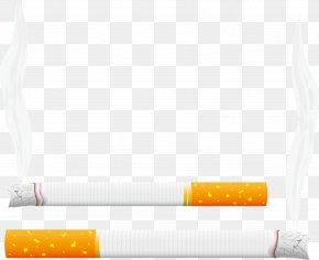 Cigarette Vector Material - Cigarette Smoking PNG