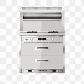 Intelligent Integrated Kitchen - Hearth JD.com Kitchen Stove Computer File PNG
