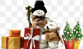 Christmas Snowman Christmas Tree - Snowman Christmas Winter PNG