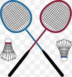 Speed Badminton Sports Equipment - Badminton Cartoon PNG