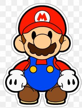 Paper Euclidean Vector Illustration - Super Mario Bros. Paper Mario Wii Clip Art PNG