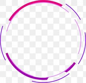 Digital Purple Circle - Download PNG