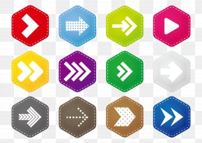 Hexagon Icon Arrow Keys - Arrow Keys Icon PNG