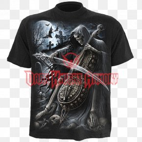 T-shirt - T-shirt Death Robe Hoodie PNG