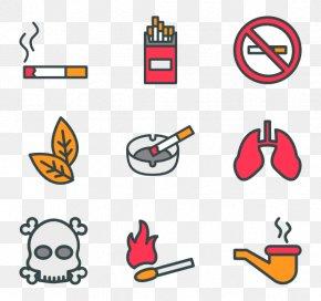 Cigarette - Tobacco Pipe Clip Art Cigarette Smoking PNG