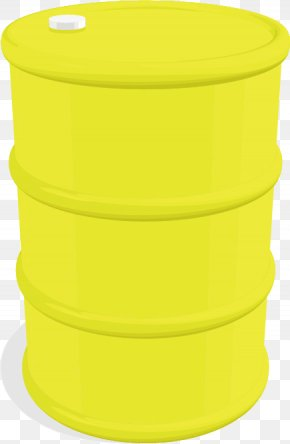 Vector Yellow Oil Drums - Yellow Euclidean Vector Oil PNG