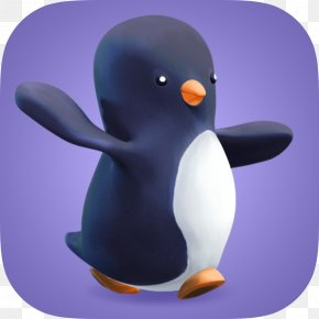 Flippers - Bird Mobile Banking Penguin IPod Touch PNG