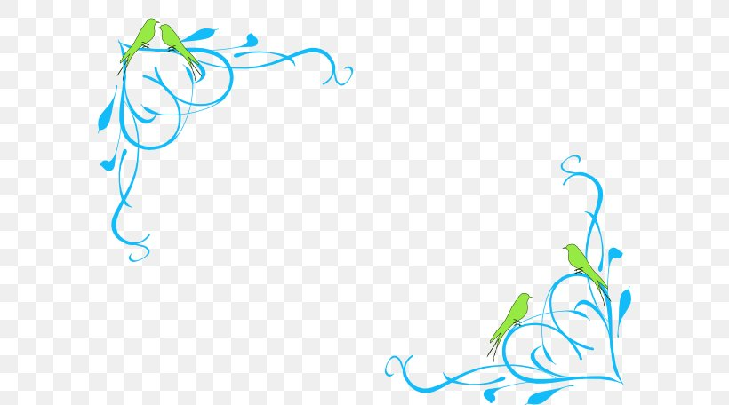 Clip Art Borders And Frames Image Illustration Vector Graphics, PNG, 600x456px, Borders And Frames, Area, Art, Bird, Blue Download Free