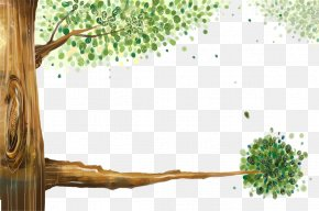 Trees - Tree Animation Painting PNG