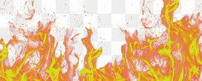 Orange Fresh Flame Effect Element - Fire Wiki Flame PNG