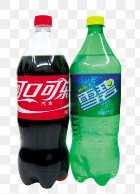 Beverages Beverages Pattern,Coca-Cola Sprite - Soft Drink Carbonated Water Plastic Bottle Aluminum Can Carbonation PNG