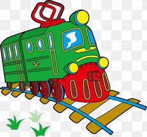 Train - Train Track PNG