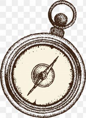 Vector Vintage Compass Compass - Compass Euclidean Vector Vecteur PNG