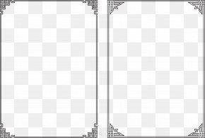 Black Frame Of Public Bulletin Board - Download Designer Icon PNG